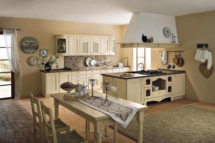 zeitlose klassische landhausk chen traumhaft massiv vom fachmann z b arrital. Black Bedroom Furniture Sets. Home Design Ideas